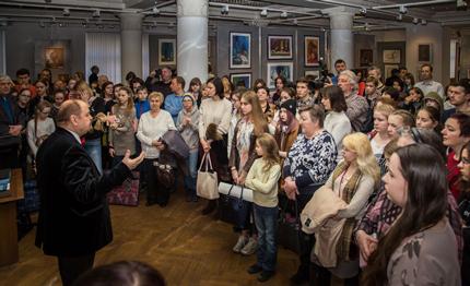 Вручение дипломов участникам выставки.