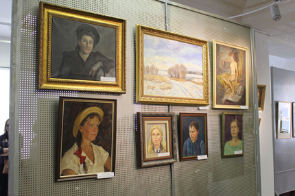Работы участников выставки
