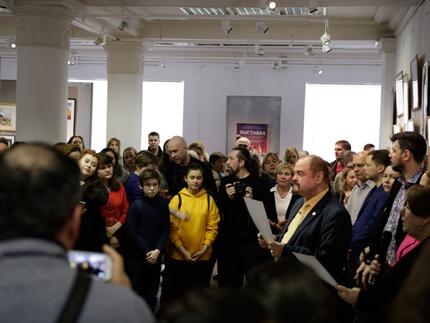 Выставка слушателей Академии искусств Строгановские традиции 2018 г.