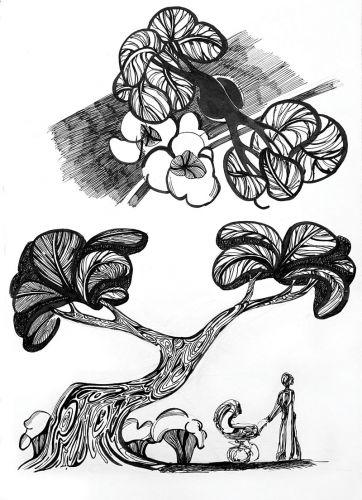 Уроки рисования пейзажа гуашью